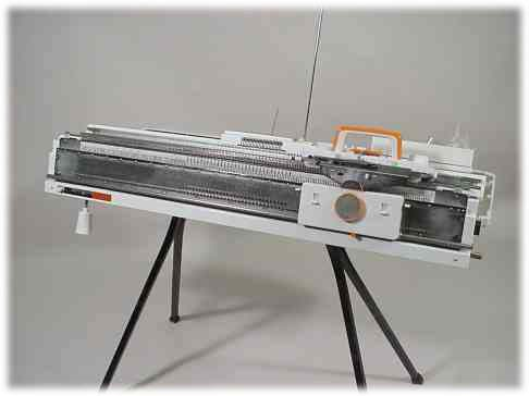 Punch Slide 1 Knitting Machines Brother